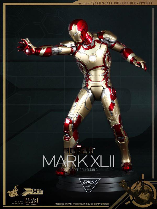 Preview   Hot Toys: Iron Man Mk XLII (Power Pose Series) (7)