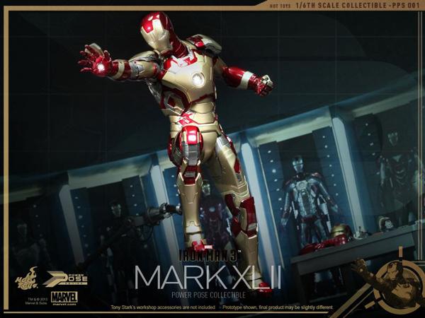 Preview   Hot Toys: Iron Man Mk XLII (Power Pose Series) (11)