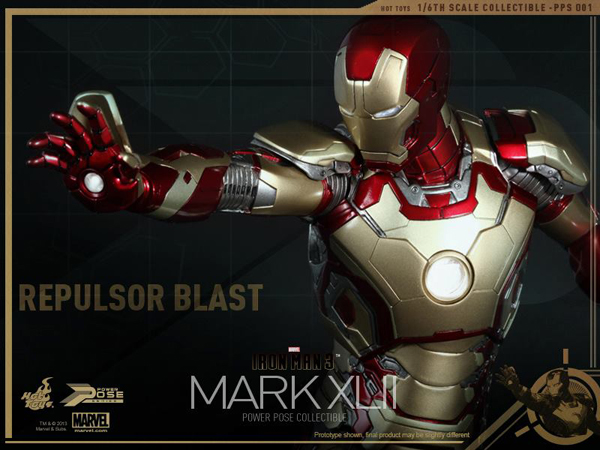 Preview   Hot Toys: Iron Man Mk XLII (Power Pose Series) (17)
