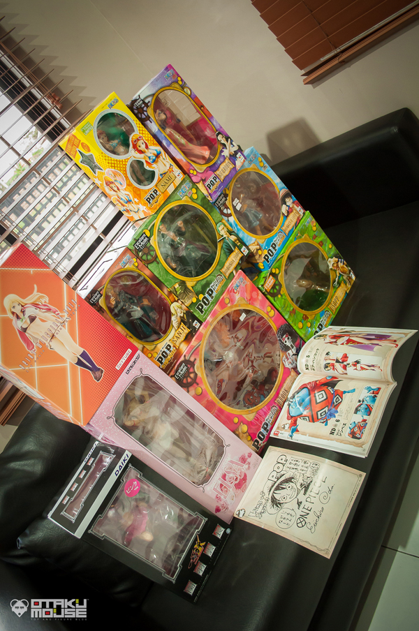 February 2013 Loots (Bishoujo Figures & One Piece P.O.P. Sailing Again) (1)