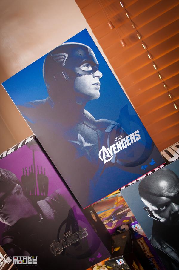 Hot Toys Captain America (Avengers Ver.) Get! (3)
