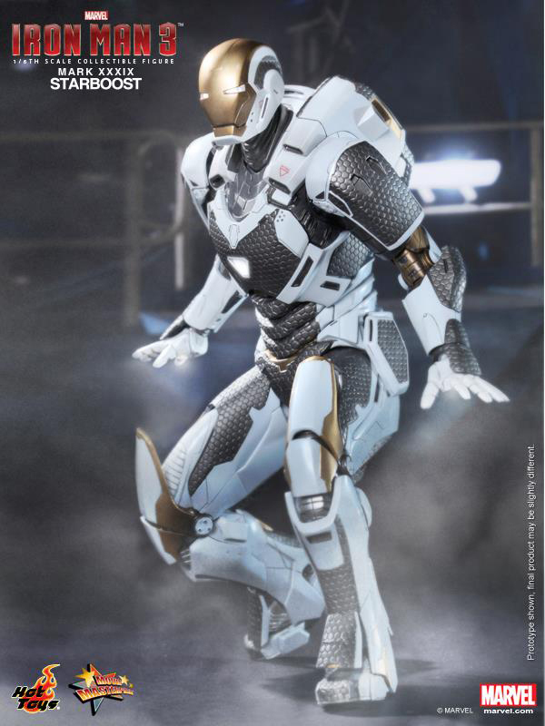 Preview   Hot Toys: Ironman Mark XXXIX (Starboost) (9)