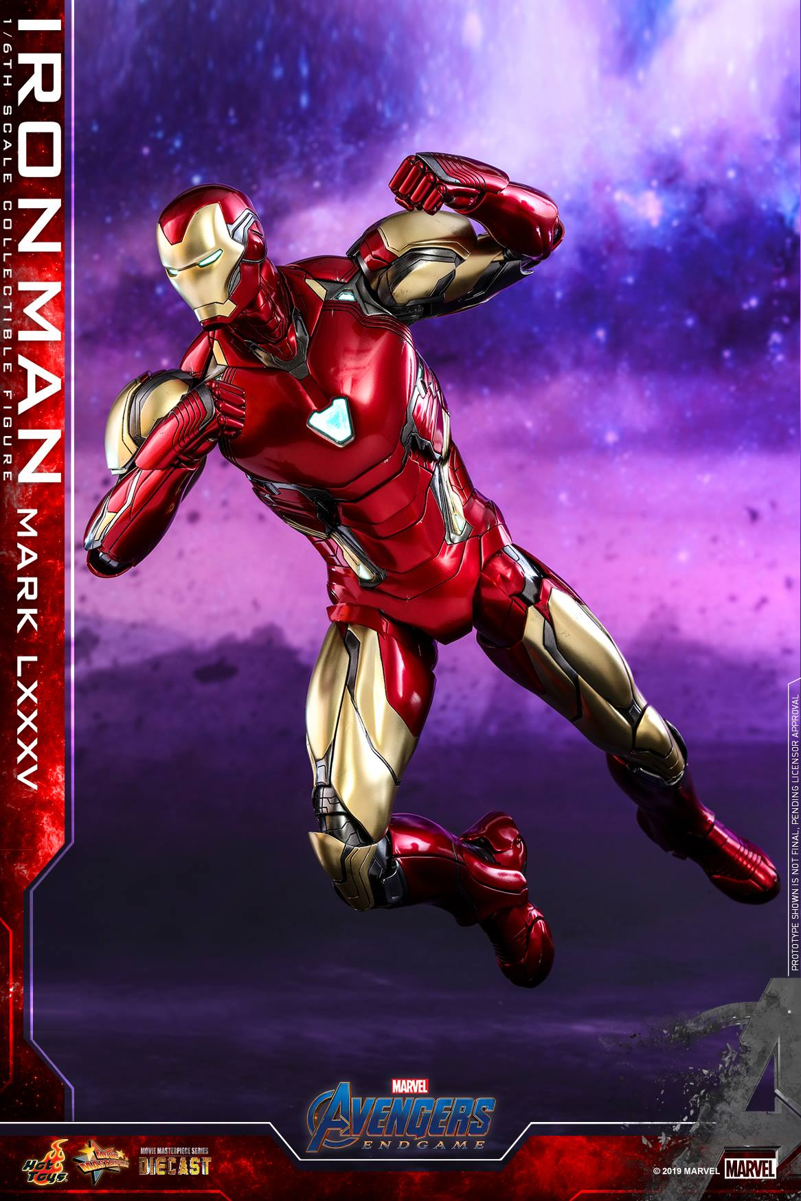 Hot Toys 1/6 Iron Man Mark LXXXV (Avengers: Endgame)