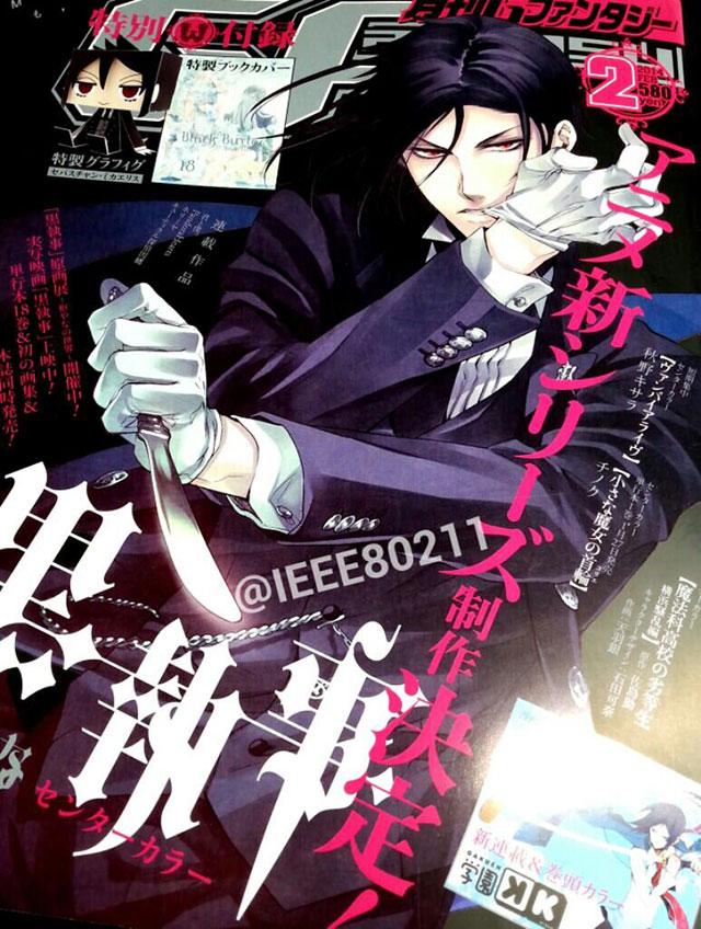 Black Butler vai ter nova série anime