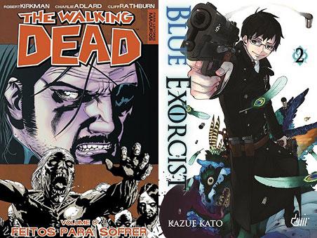 The Walking Dead 8 e Blue Exorcist 2
