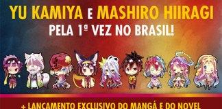 YU KAMIYA de NO GAME NO LIFE no Brasil