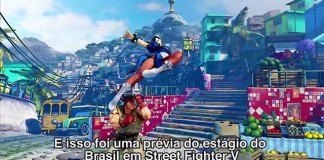 Confirmado estágio brasileiro de Street Fighter V