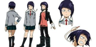 My Hero Academia - mais design de personagens
