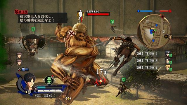 Attack on Titan para PS4 (7)