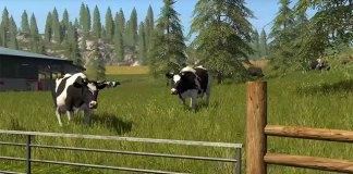 """Farming Simulator 17 – trailer """"animais"""""""