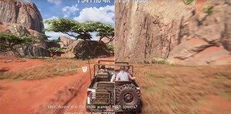 Uncharted 4 - Vídeo comparação PlayStation 4 Pro Vs PlayStation 4