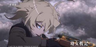Youjo Senki - 3º trailer