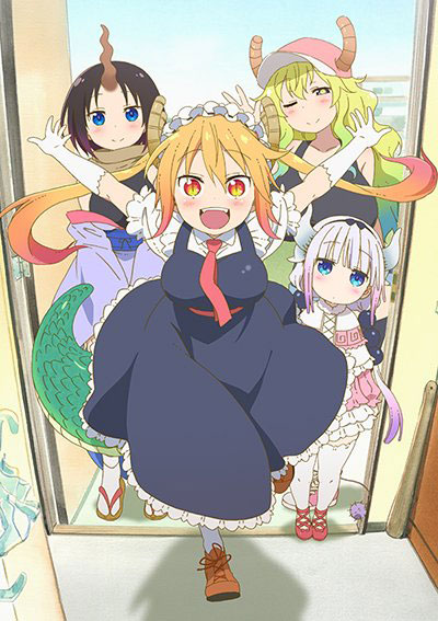 Miss Kobayashi's Dragon Maid - trailer