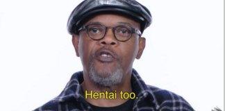 Samuel L. Jackson gosta de Anime e Hentai
