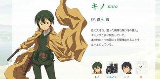 Kino's Journey - Design de personagens