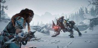 Horizon Zero Dawn: The Frozen Wilds mostra Scorcher