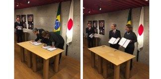 Japão e Brasil assinam Memorando de Entendimento para Cooperação em Turismo
