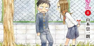 Karakai Jouzu no Takagi-san com 4 milhões de cópias