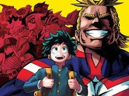 My Hero Academia tem 13 milhões de cópias