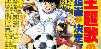 Revelados mais atores do novo anime de Captain Tsubasa