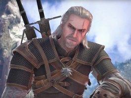 Geralt em SoulCalibur VI