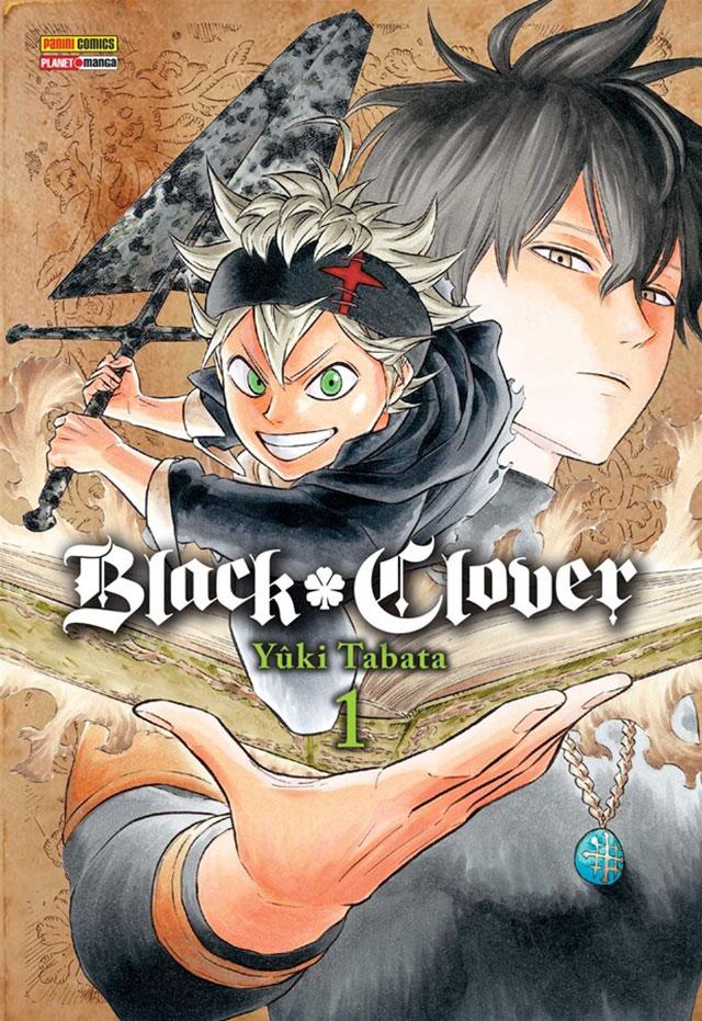 Mangá de Black Clover bimestral no Brasil