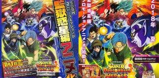 Primeiras imagens do anime de Dragon Ball Heroes