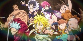 Terceiro trailer do filme anime de Nanatsu no Taizai