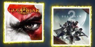 Destiny 2 e God of War III nas ofertas Playstation Plus de Setembro