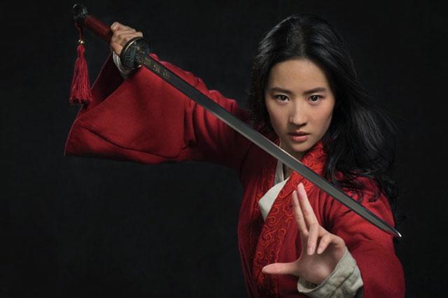 Primeira foto do filme live-action de Mulan