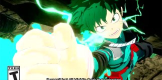 Trailer de lançamento de My Hero One's Justice