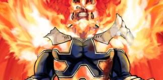 Capa do volume 21 do mangá de My Hero Academia