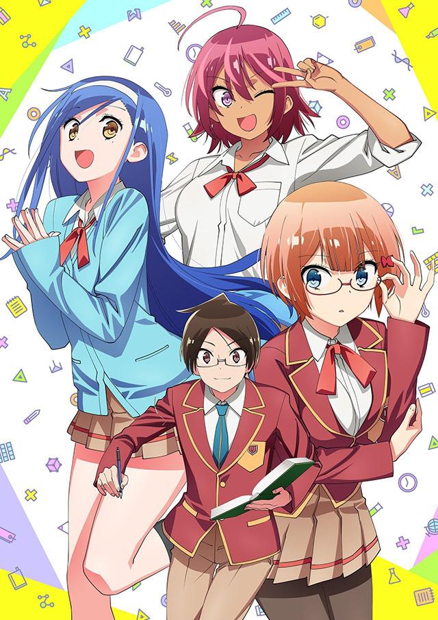 Revelado design de personagens de Bokutachi wa Benkyou ga Dekinai