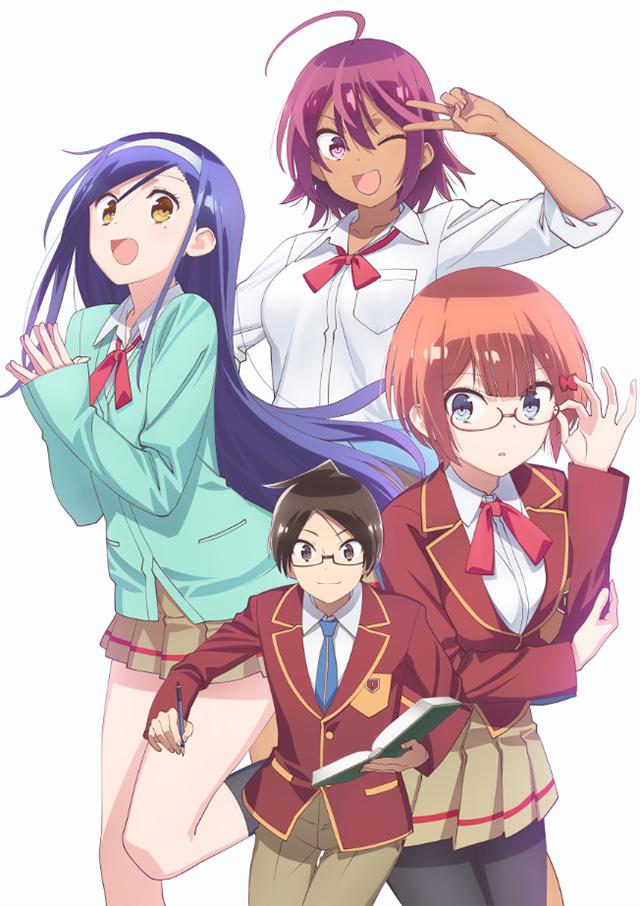 Revelado elenco de Bokutachi wa Benkyou ga Dekinai