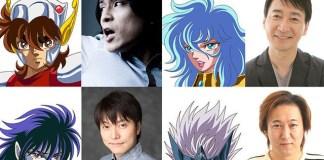 Adições ao elenco de Cavaleiros do Zodíaco: Saintia Shō