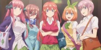 Novo trailer de Go-Toubun no Hanayome