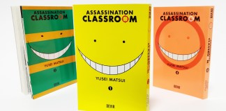 Passatempo: 1º volume de Assassination Classroom