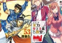 Ranking mensal de vendas Mangás/Light novels – Janeiro