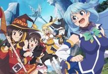 Poster do filme anime de KonoSuba