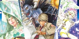 Poster da primeira exibição de arte de Takeshi Obata