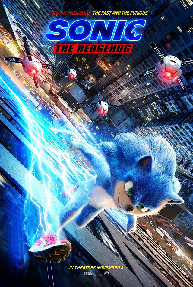 Posters de Sonic The Hedgehog
