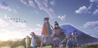 Série de episódios curtos de Yuru Camp△ em janeiro de 2020