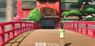 A Viagem de Chihiro vai finalmente ser exibido na China
