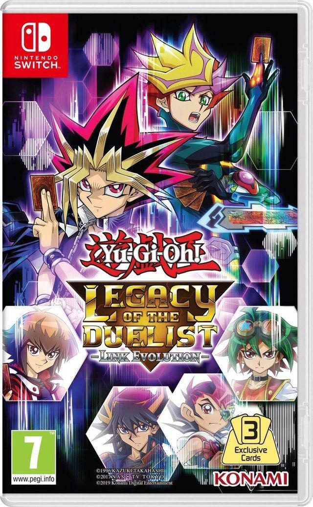 Yu-Gi-Oh! Legacy of the Duelist: Link Evolution em Agosto