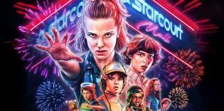 Poster épico de Stranger Things 3
