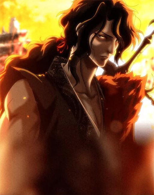 Sensui Kanzaki, um samurai que viajou desde o início do período Edo.