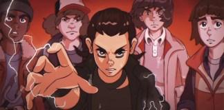 Stranger Things é transformado num anime dos anos 80