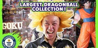 Maior coleção do Mundo de Dragon Ball