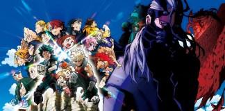 Mais uma imagem promocional de My Hero Academia HEROES:RISING