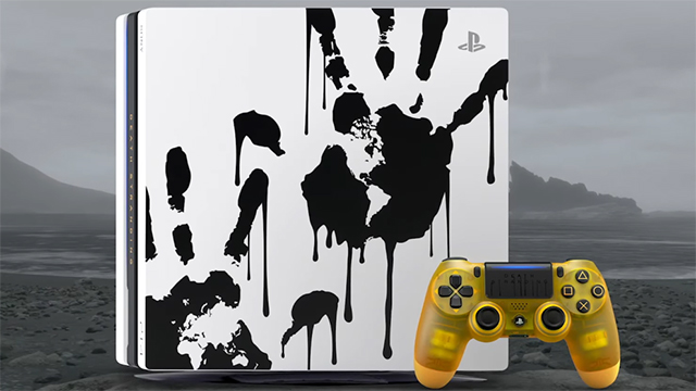 PS4 Pro de Death Stranding